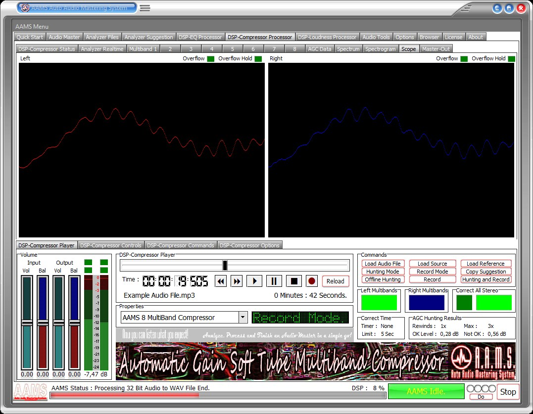 AAMS Auto Audio Mastering System - www curioza com