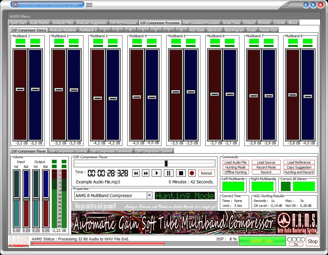 AAMS Auto Audio Mastering System www curioza com