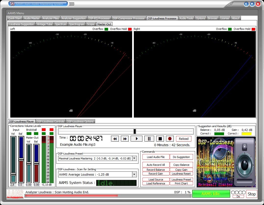 AAMS Auto Audio Mastering System www curioza com